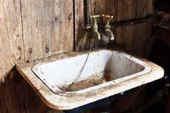 Old sink Royalty Free Stock Photo