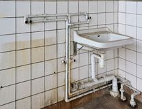 Old sink Stock Photography
