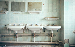 Old sink Royalty Free Stock Photos