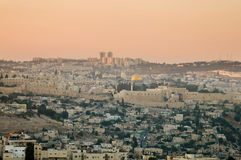 The Old Sity of Jerusalem. Stock Photo