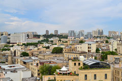 Old Sity. View from the Maiden Tower Stock Images