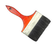 Old six inch paint brush Stock Photography