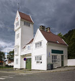 The old Skansen Fire Station in Bergen, Norway Royalty Free Stock Image
