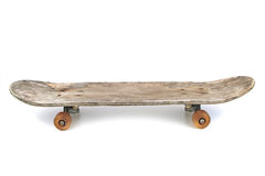 Old skateboard isolated on white background Royalty Free Stock Photography