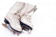 Old skates Royalty Free Stock Image
