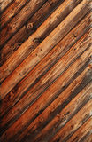 Old Skew Wood Royalty Free Stock Images
