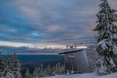 Old Ski lift Stock Image