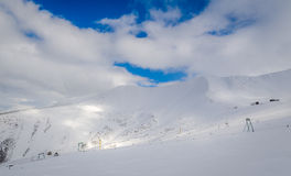 Old ski resort Royalty Free Stock Photography