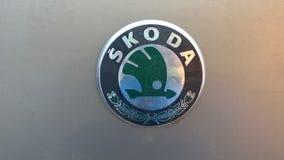 Old Skoda Logo Stock Photography