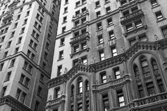 Old skyscrapers Royalty Free Stock Image
