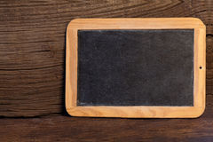 Old slate blackboard Royalty Free Stock Photography