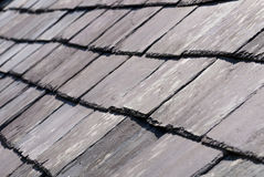 Old Slate roof Royalty Free Stock Images