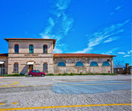 Old slaughterhouse in Piombino Royalty Free Stock Photography