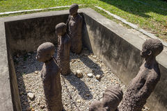 Old Slave Market - Stone Town Stock Image