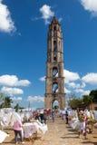 Old slavery tower in Manaca Iznaga near Trinidad, Cuba Stock Photos
