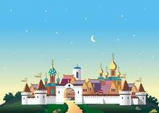 Old_Slavic_city Royalty Free Stock Photo