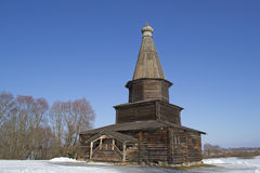 Old Slavonic wooden house Royalty Free Stock Image