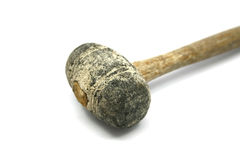 Old sledge hammer isolated Stock Photo