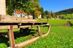 Old sleigh Stock Photography