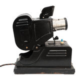 Old slide projector Stock Photo