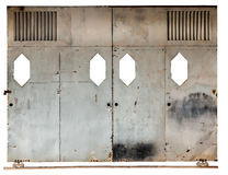 Old sliding door Royalty Free Stock Images