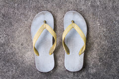 Old slipper Royalty Free Stock Images