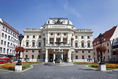 The old Slovak National Theatre building in Neo-Renaissance style, Royalty Free Stock Photos