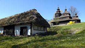 Old slovak village Royalty Free Stock Photo