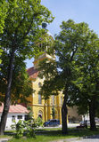 The old Slovak vines town Modra. Royalty Free Stock Photo