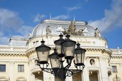 Old Slovakian National theatre bratislava Royalty Free Stock Photography