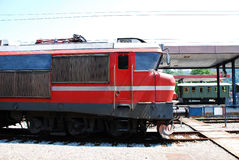 Old Slovenian Train Royalty Free Stock Photos