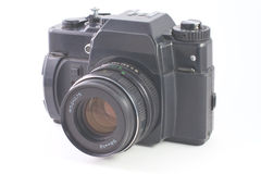Old SLR camera Stock Photography