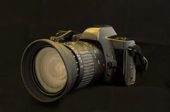 Old SLR Camera. Royalty Free Stock Photo