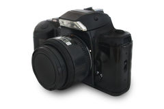 Old SLR Camera Royalty Free Stock Photos