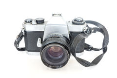 Old SLR camera film Royalty Free Stock Image