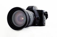 Old SLR Camera. Royalty Free Stock Photo