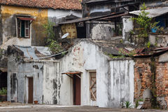 Old slum in Penang Stock Images