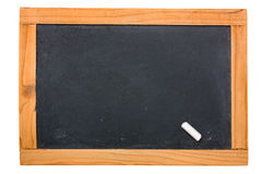 Old small blackboard Royalty Free Stock Photos