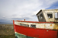 An old small boat Stock Photo