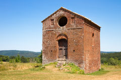 Old small building near the abbey of San Galgano in the province Stock Photo