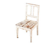 Old small chair Royalty Free Stock Photography