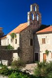 Old small church in Budva, Montenegro Stock Image