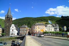 Old small city Bernkastel Kues in Germany Stock Photos
