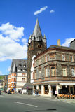 Old small city Bernkastel Kues in Germany Royalty Free Stock Photos