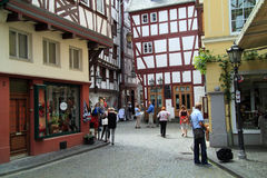 Old Small city Bernkastel Kues in Germany Stock Photo