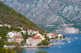 Old small city in Montenegro Royalty Free Stock Photography