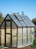 Glass greenhouse Royalty Free Stock Photography
