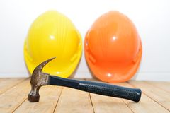 Old small hammer Royalty Free Stock Photo