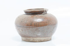 Old small jar Struck in Phuket Thailand Stock Images