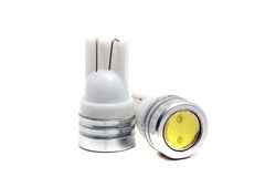 Old small LED bulbs Royalty Free Stock Photo